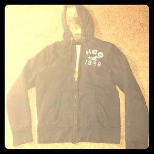 Vintage Hollister HCO Zip Up Windbreaker Hoody